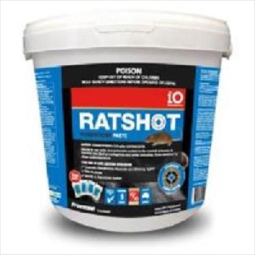 Io Ratshot Paste 240gm Blue Difenacoum