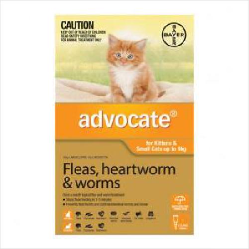 Bayer Advocate Cat 0-4kg 3pack