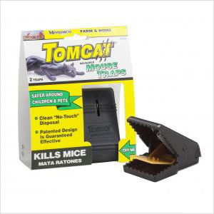 Tomcat Plastic Mouse Trap Twin Pk