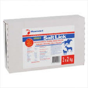 Ranvet Salt Licks (iodised) 3 X 2kgs