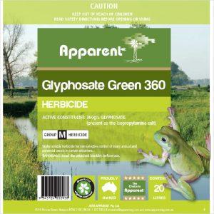 Apparent Glyphosate Green 360 1 Litre