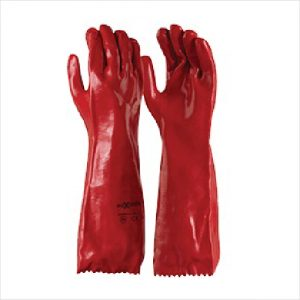 Maxisafe Glove Red Single Dipped 45cm