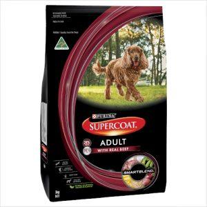 Supercoat Adult Dog Beef 3kg