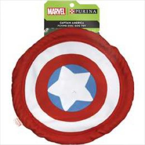 Marvel Captain America Disc Dog Toy