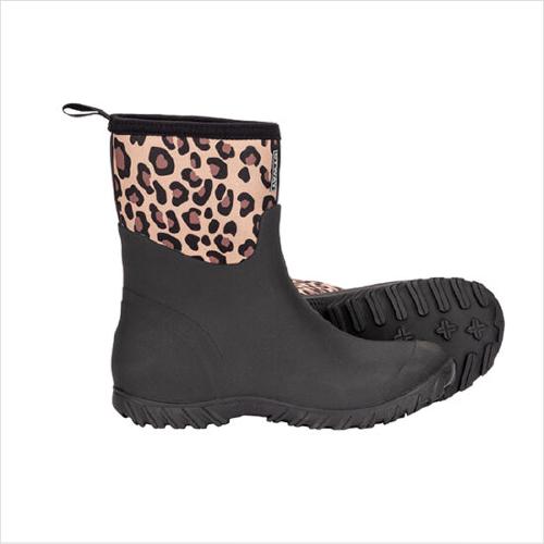 Otway Ladies Deluxe Mid Leopard Size 6
