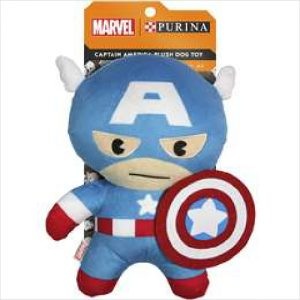 Marvel Captain America Dog Toy