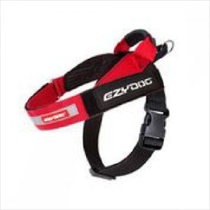 Ezydog Harness Express L Red