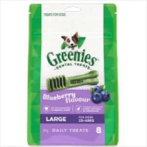 Greenies Dental Blueberry Large 340gm