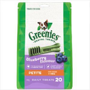 Greenies Dental Blueberry Petite 340gm