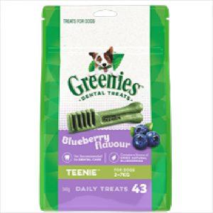 Greenies Dental Blueberry Teenie 340gm