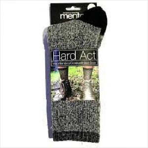 Ww Hard Act Boot Blk 3-8