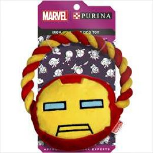 Marvel Iron Man Rope Dog Toy