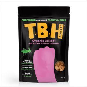 T B H Organic Cricket Pumpkin Almonds