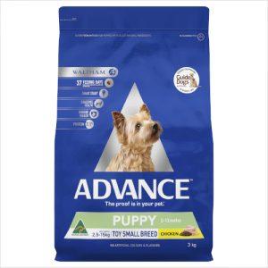 Advance Puppy Toy Small Ckn 3kg