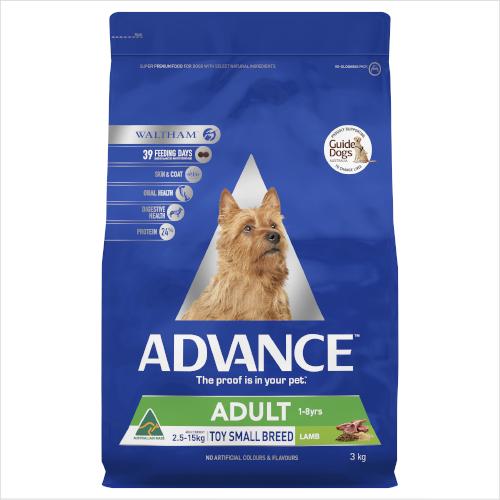 Advance Toy/sm Lmb & Rice 3kg