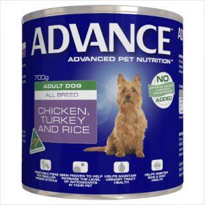 Advance Can Ckn Turk Rice 12x700gram