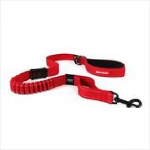 Ezydog Leash Zero Shock 120cm Red